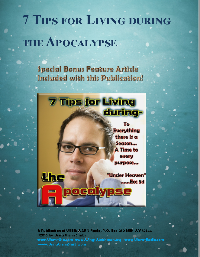 7 Tips for Living during the Apocalypse -FREE E Book!